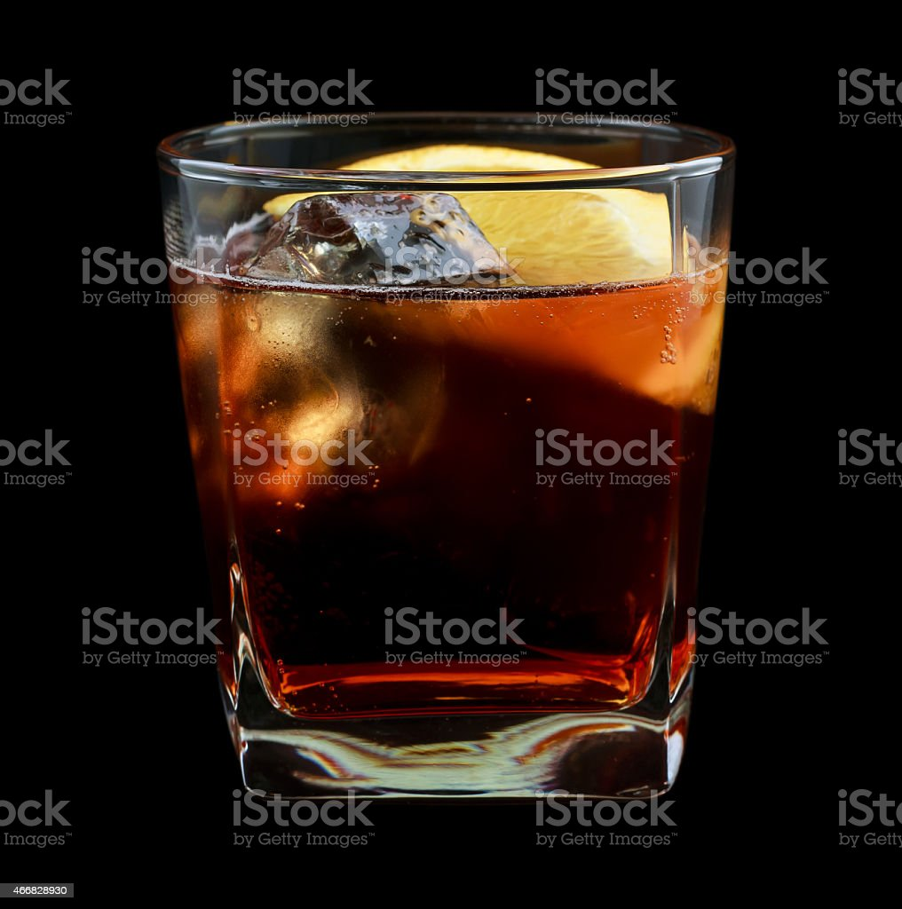 Americano drink stock photo