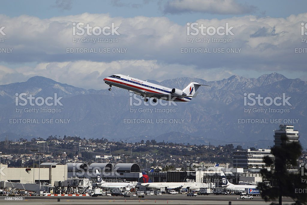 American Eagle Bombardier stock photo