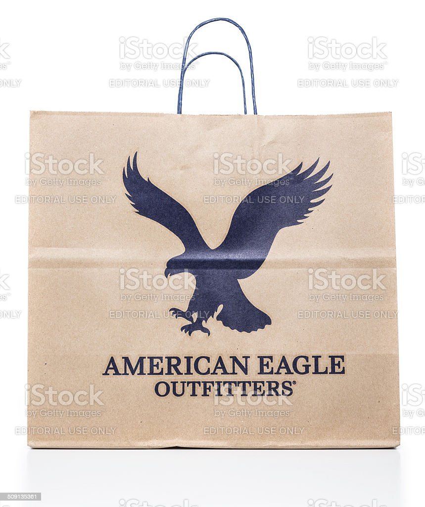 American Eagle Outfitters bag stock photo