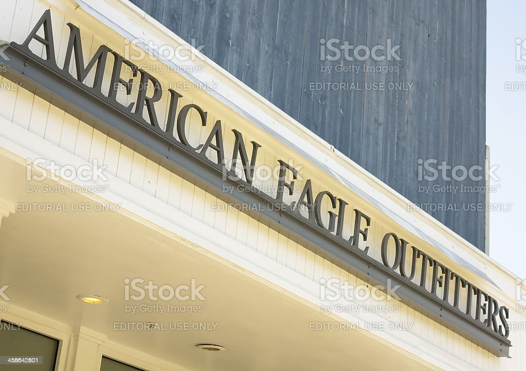 American Eagle Outfitters stock photo