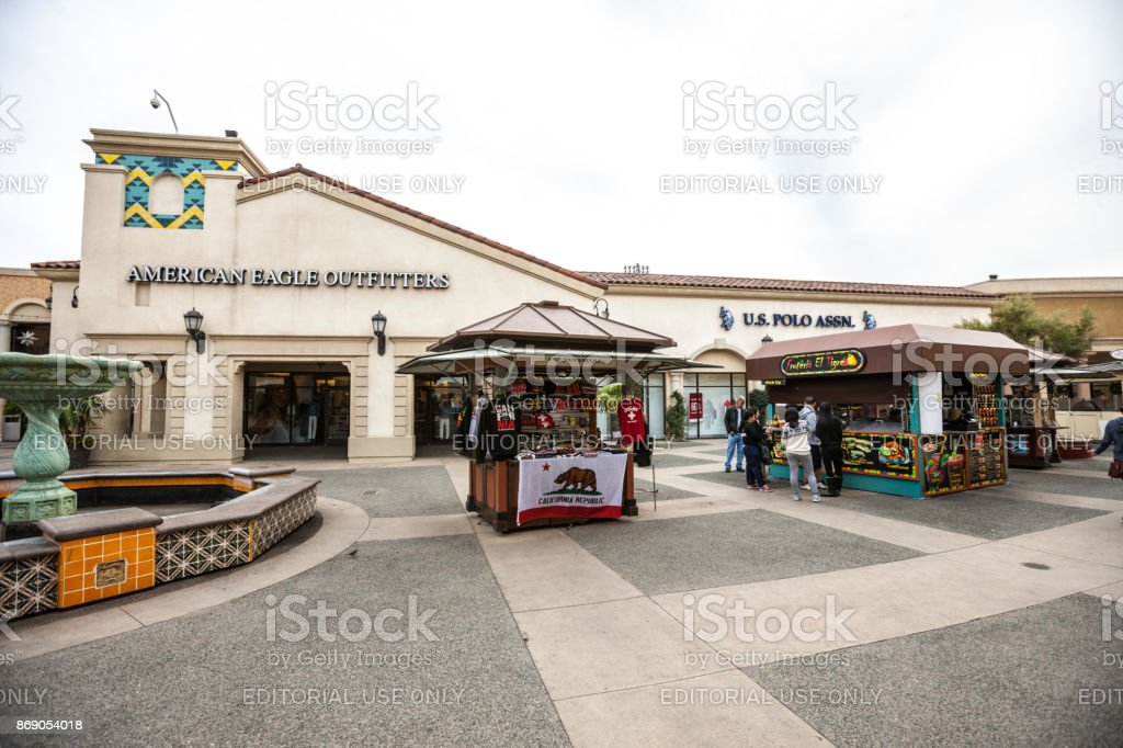 American' Eagles Outfitters in Las Americas shopping mall, San Diego, USA stock photo