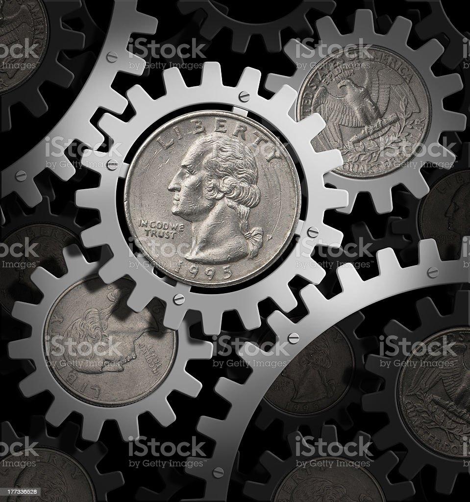 American economy stock photo