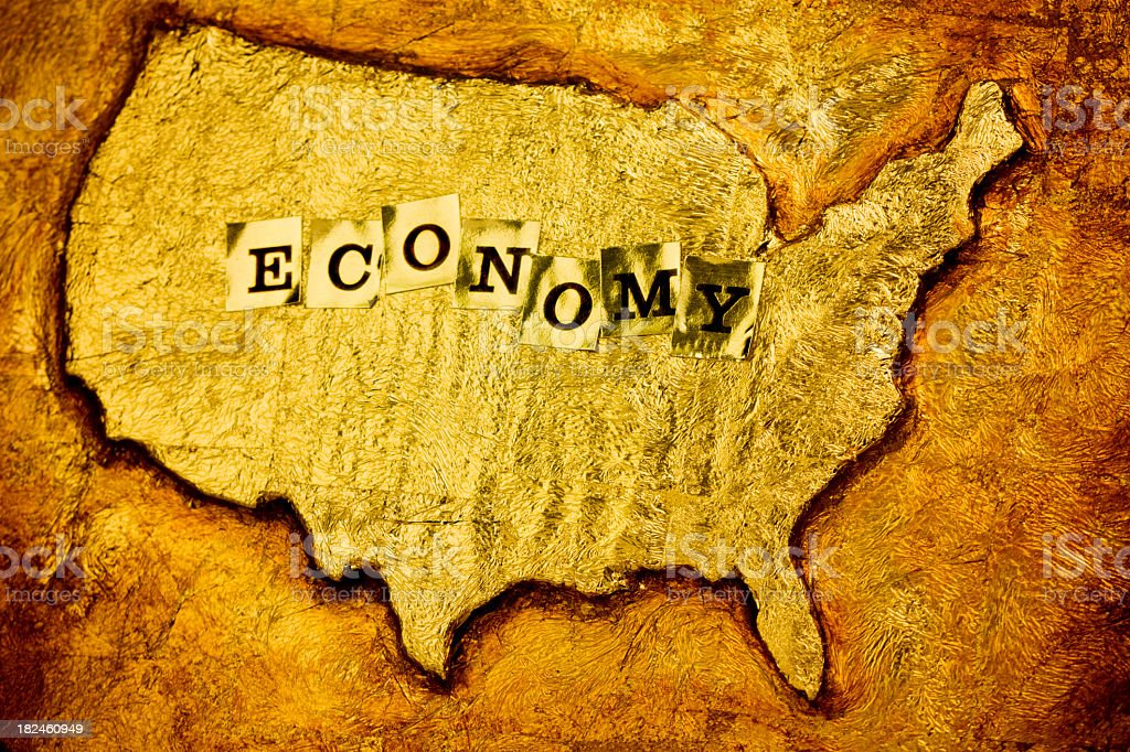 American Economy royalty-free stock photo