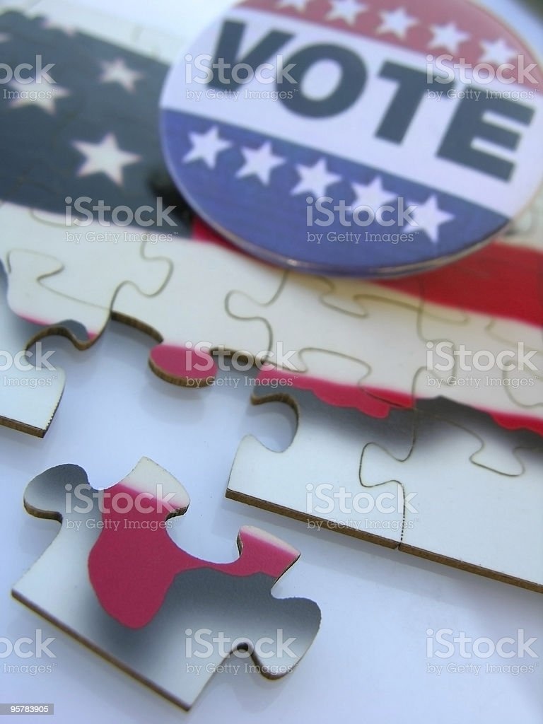 American Election Concept royalty-free stock photo