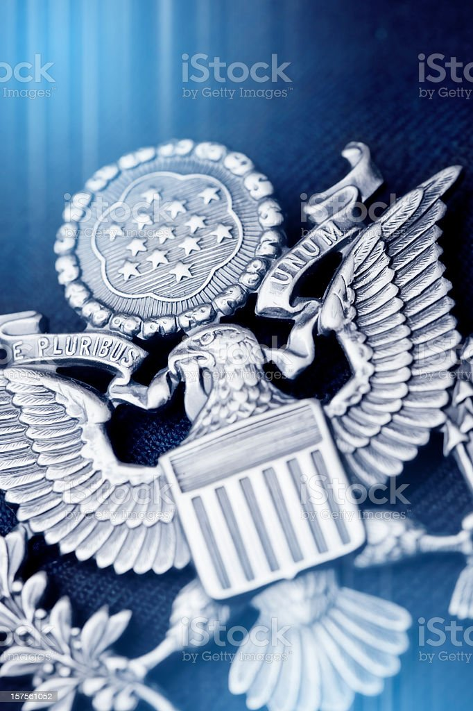 American Emblem royalty-free stock photo