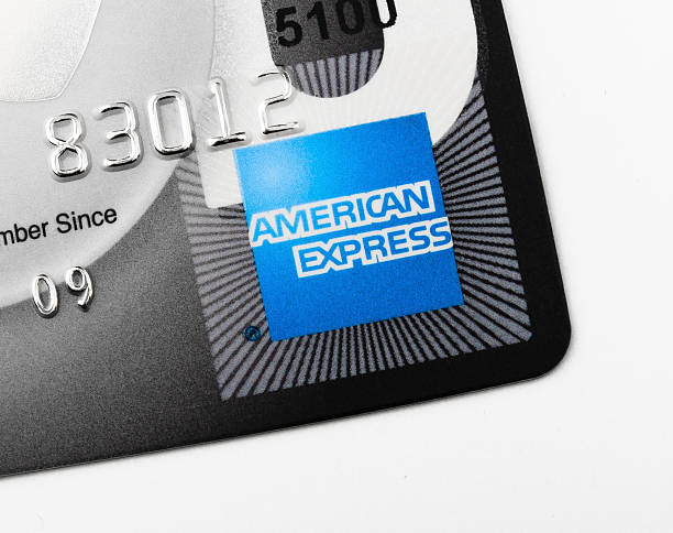 American Express Card stock photo