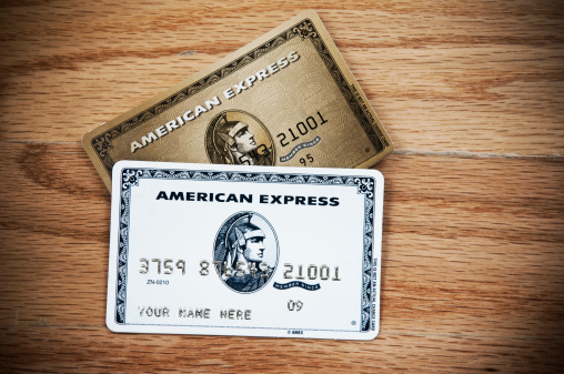 American Express Credit Cards Stock Photo - Download Image Now