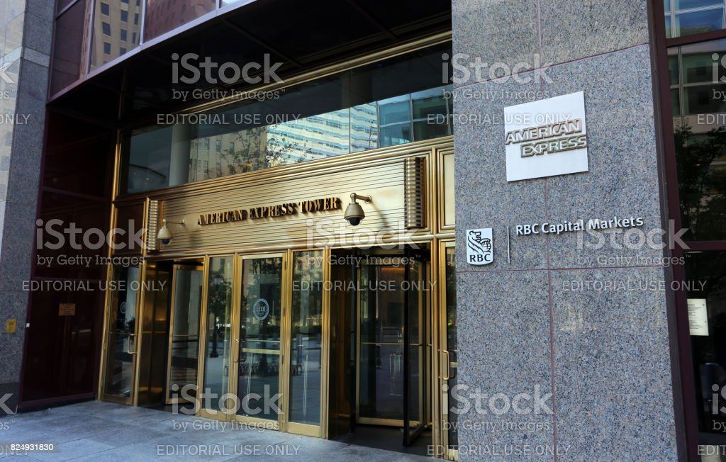 American Express Headquarters stock photo