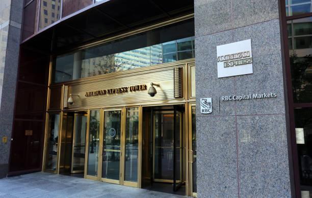 American Express Headquarters stock photo