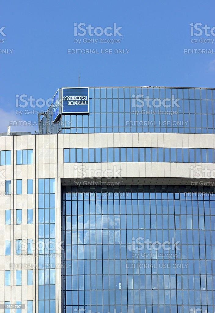 American Express edificio de oficinas - foto de stock