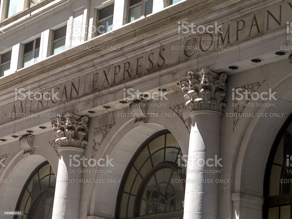 American Express stock photo