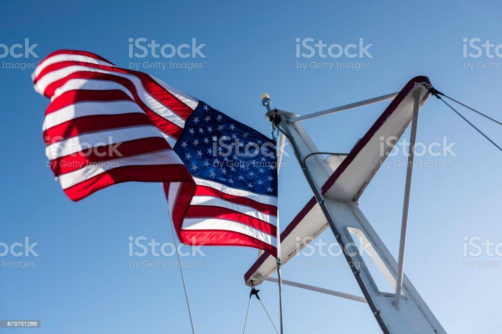 American falg stock photo