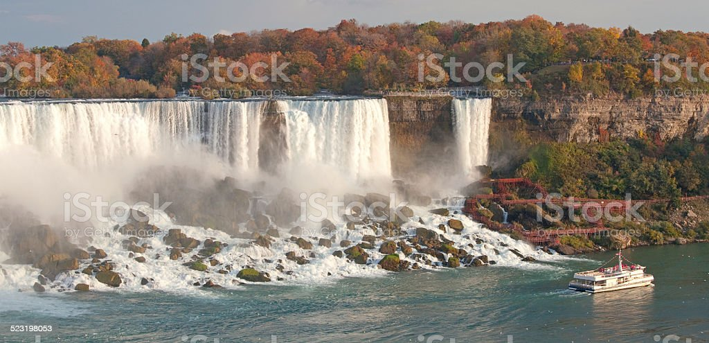 American Falls at Niagara stock photo