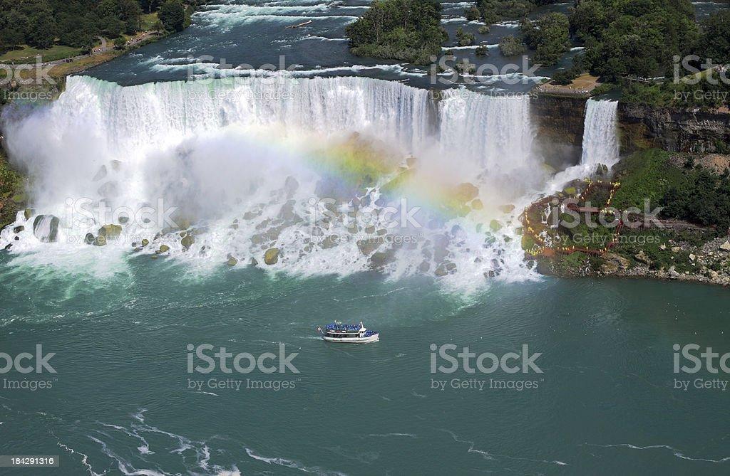 American Falls of Niagara stock photo