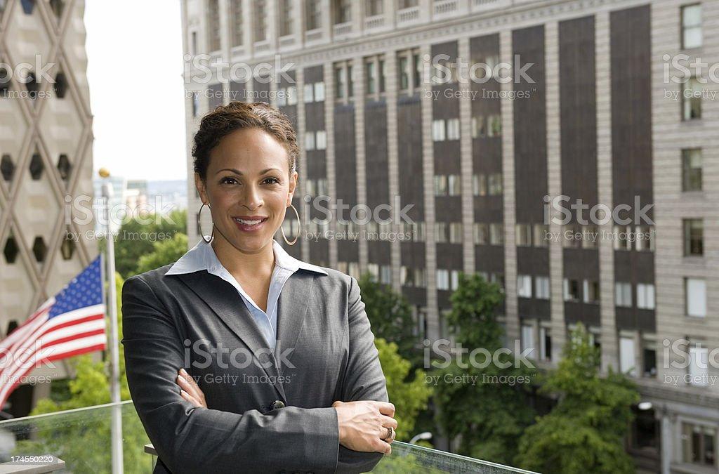 American Female royalty-free stock photo