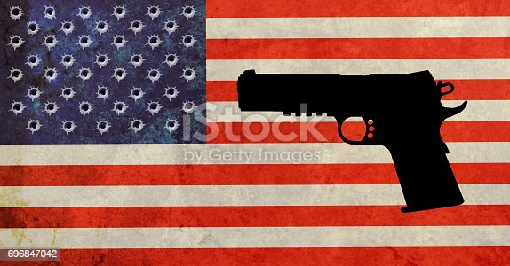 istock American firearm accident 696847042