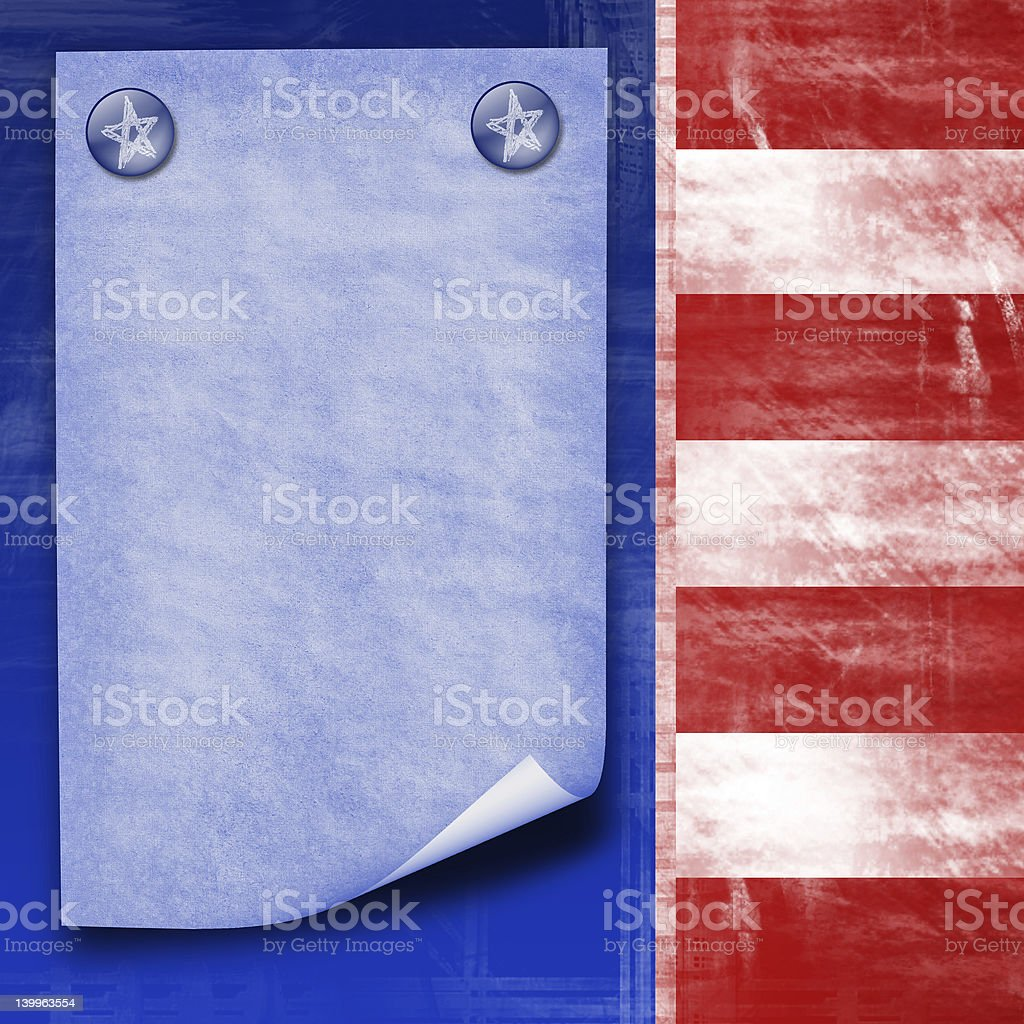 american flag abstract design royalty-free stock photo