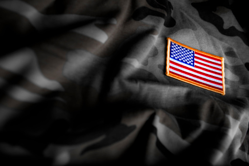 American Flag and Camoflage