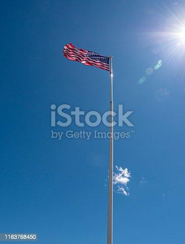 Monument op de top van de Mont de Sigolsheim een eerbetoon aan de Amerikaanse soldaten die voor de bevrijding van de Elzas vochten