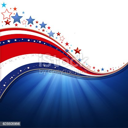 istock American Flag, background for Independence Day and other events. 625505956