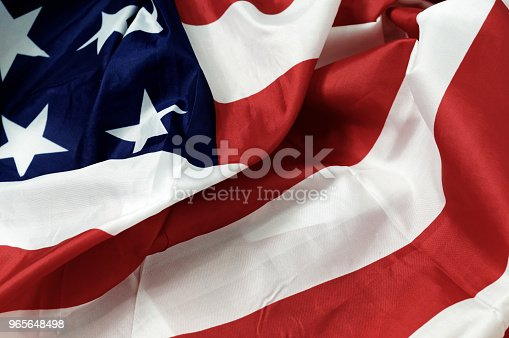 953130996 istock photo American Flag background for Memorial Day or 4th of July celebration 965648498