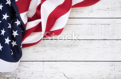 518726782 istock photo American Flag Background 1146081774