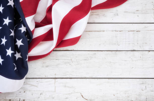 american flag background - american flag stock pictures, royalty-free photos & images