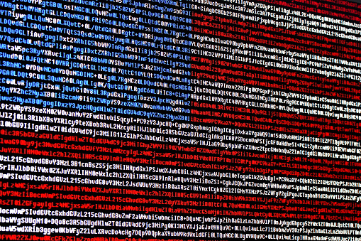 istock American flag consisting of computer code symbols 848691518