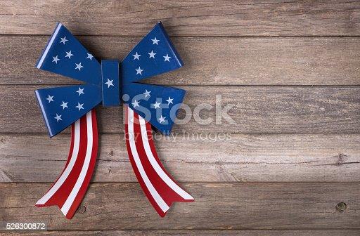 istock American Flag Emblem 526300872
