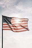 istock American Flag Flying 1086151234