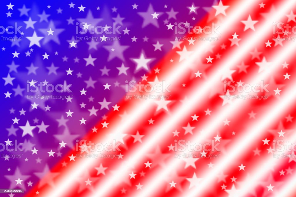 American flag for background stock photo