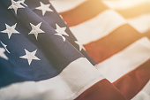 istock American flag for Memorial Day, 4th of July, Labour Day 826051854