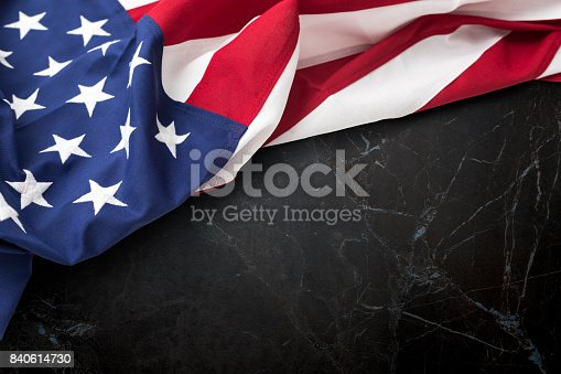 istock American flag for Memorial Day, 4th of July, Labour Day 840614730