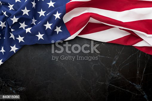 istock American flag for Memorial Day, 4th of July, Labour Day 840615050