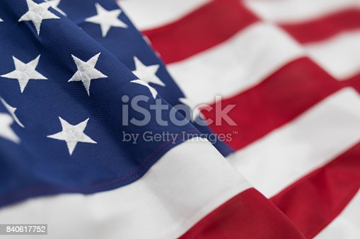 istock American flag for Memorial Day, 4th of July, Labour Day 840617752