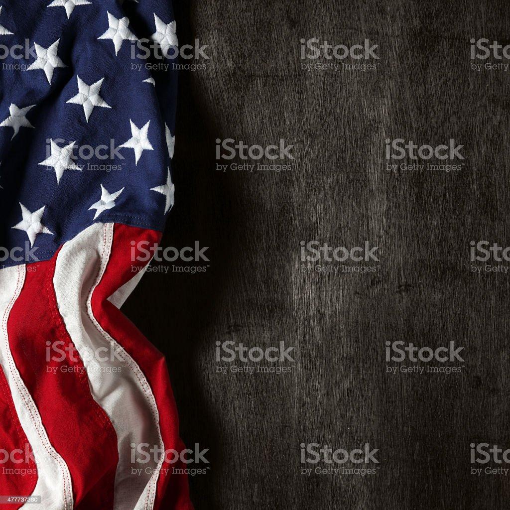 Bandeira americana para Memorial Day ou 4 de julho - foto de acervo