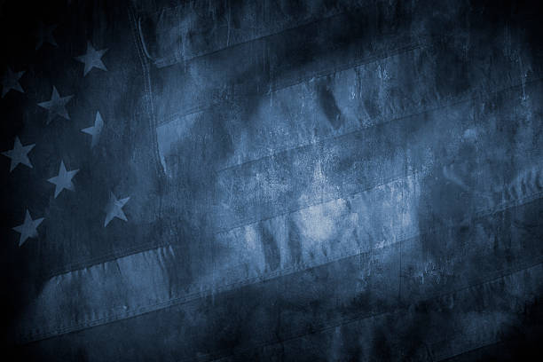 american flag grunge - american flag background stock pictures, royalty-free photos & images