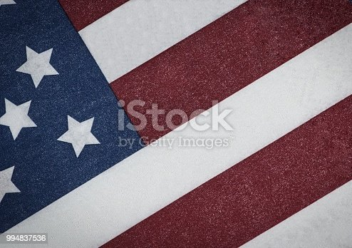 953130996istockphoto American flag in grunge style. 994837536