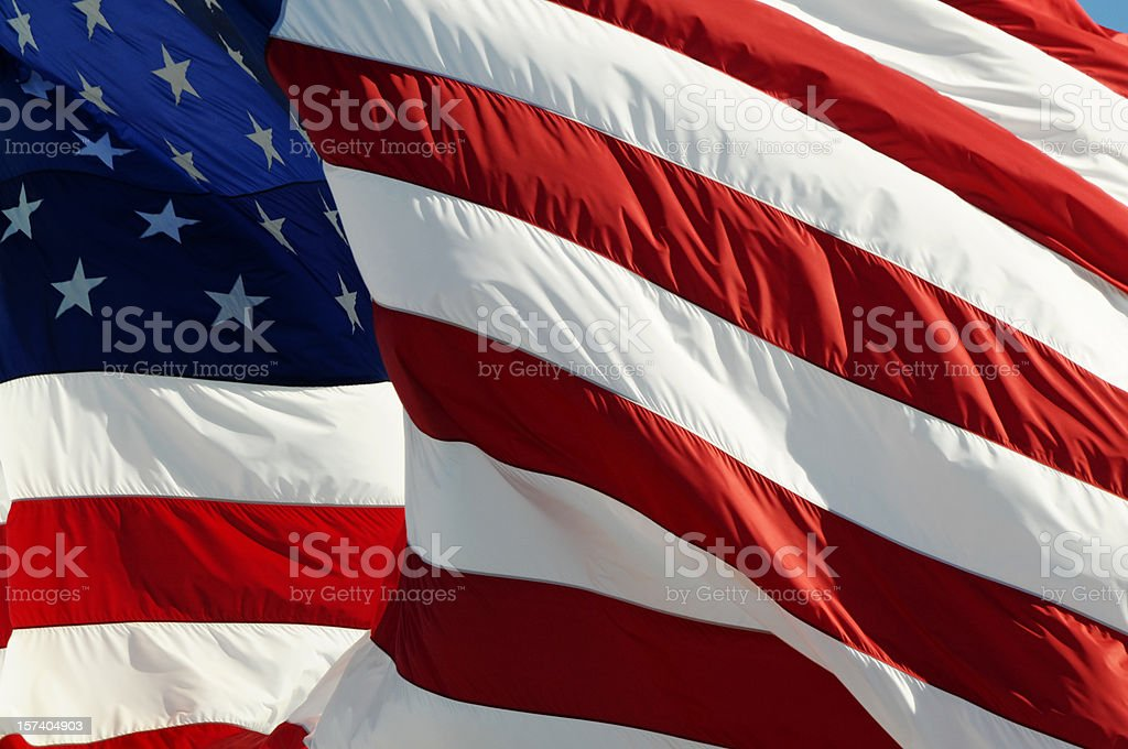 American Flag of Pride royalty-free stock photo