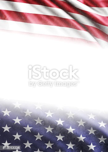 182764873istockphoto American Flag on White Background 513253006