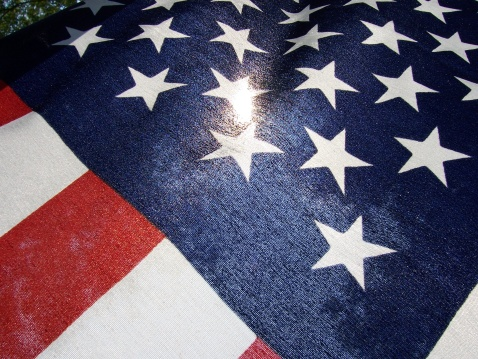 American Flag Overlay Stock Photo - Download Image Now - iStock