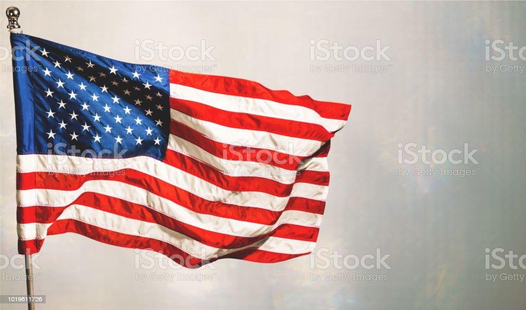 Amerikanische Flagge. – Foto