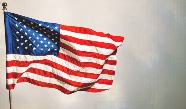 american flag. - usa flag stock photos and pictures