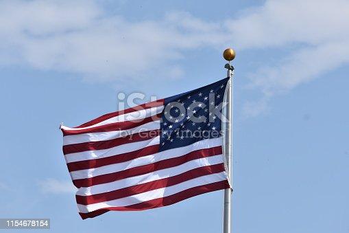 istock American flag 1154678154