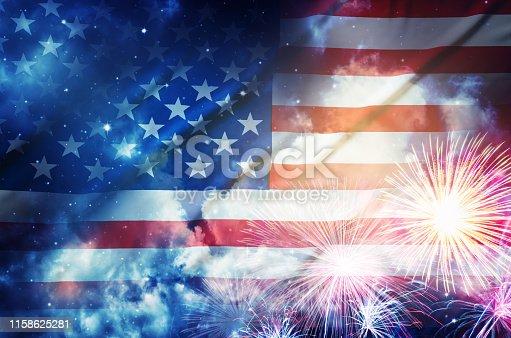 istock American flag 1158625281