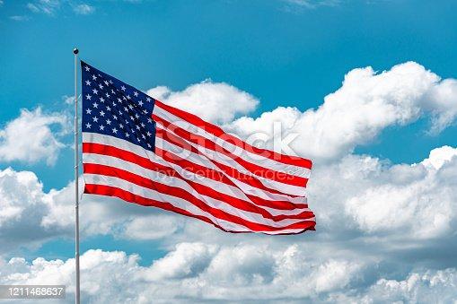 istock American Flag 1211468637