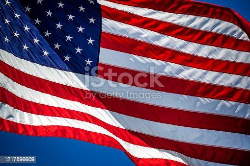 840615050 istock photo American Flag 1217896609
