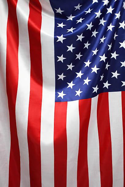 bandiera americana - composizione verticale foto e immagini stock