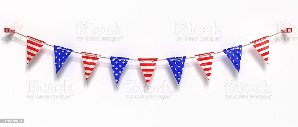 Bandeira dos Estados Unidos da América - fotografia de stock