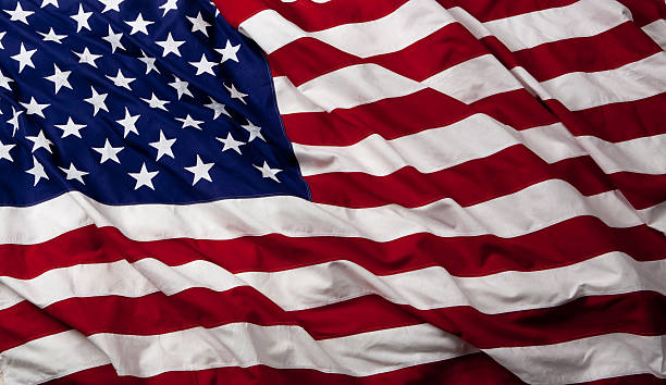 american flag - usa flag stock photos and pictures
